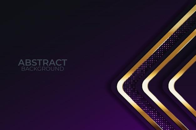 Темный фон слоев наложения с блестками Premium векторы