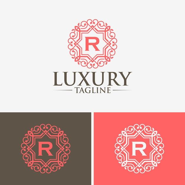 Шаблоны логотипов класса люкс Premium векторы