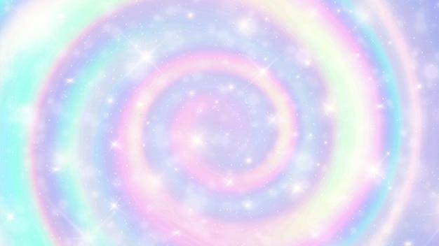 大理石の虹の渦巻き模様の背景。 Premiumベクター
