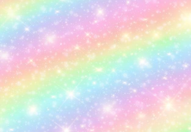 虹の明るいキャンディーの背景。 Premiumベクター
