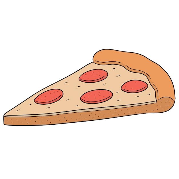 ピザ Premiumベクター