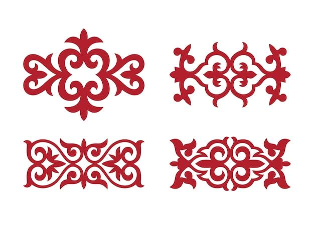 Традиционный орнамент в средней азии Premium векторы