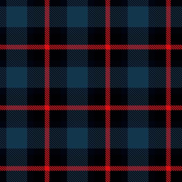 スコットランドのセル生地 Premiumベクター