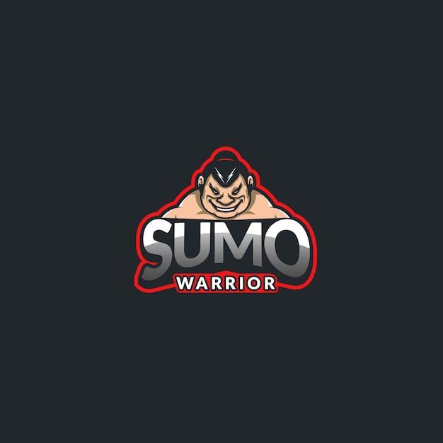 Воин сумо Premium векторы