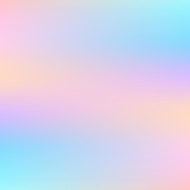 Абстрактный голографический фон в пастельных тонах Premium векторы