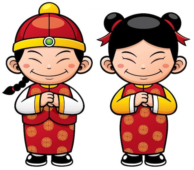 Картинка веселого китайца