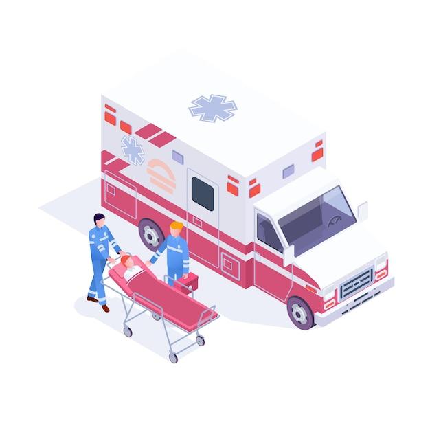 Скорая помощь, скорая помощь, клиника, отделение неотложной помощи, инфографика Premium векторы