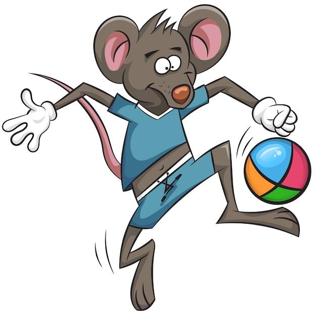 очень картинка мышка спортсмен этом случае