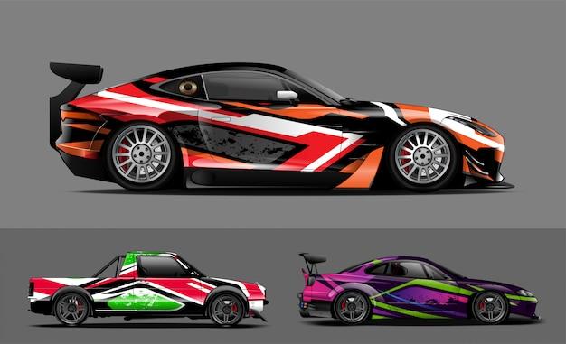 Окраска автомобиля Premium векторы