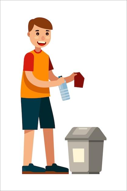 Бросать мусор картинка