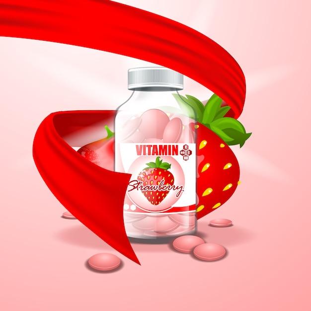 Картинки баночка для витаминов