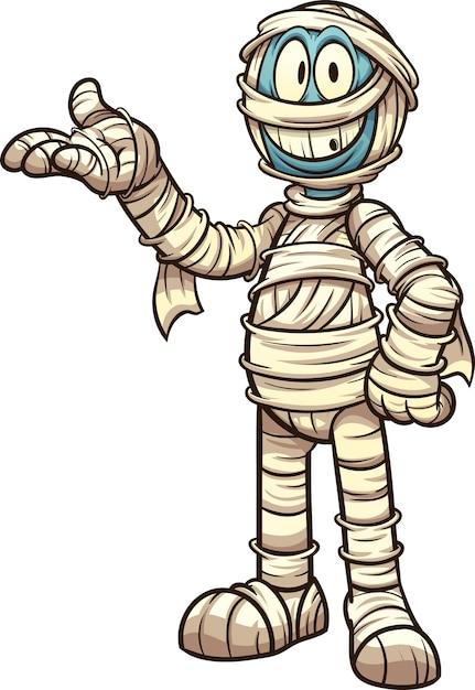 Картинка мумии из мультика