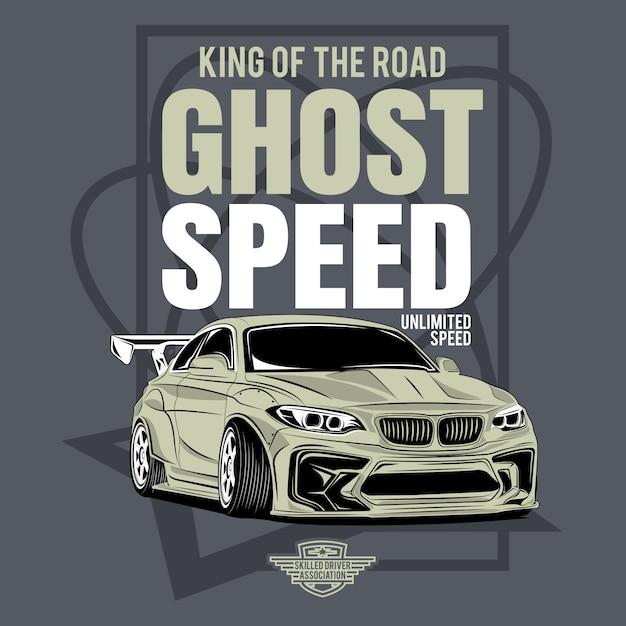 Удивительная классика, автомобильный фестиваль на заказ, афиша спортивного классического автомобиля Premium векторы