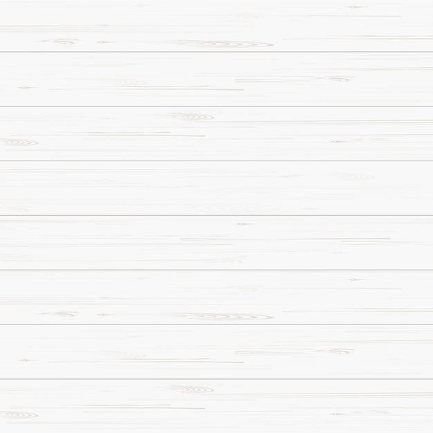 白い木のテクスチャの背景。 Premiumベクター