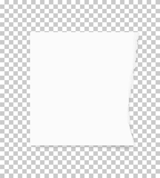 背景のために紙の端を引き裂いた。 Premiumベクター