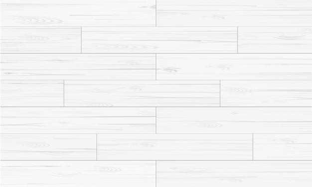 白い木のパターンと背景のためのテクスチャ。 Premiumベクター