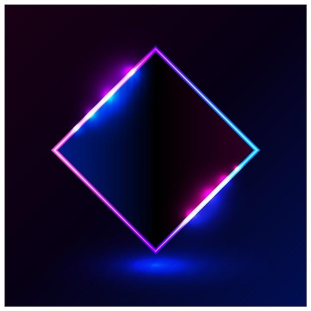 Форма светло-голубой розовый векторная иллюстрация рамка для продвижения рекламы Premium векторы