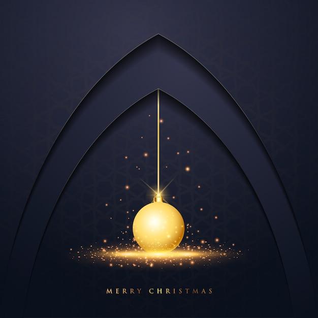 クリスマスベクトルデザイングリーティングカード Premiumベクター
