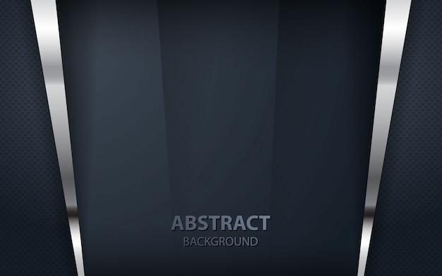 Абстрактный черный фон перекрытия Premium векторы