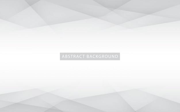 Абстрактный светло-серебряный фон Premium векторы