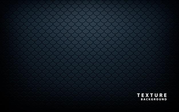 ブラックメタリックパターン Premiumベクター