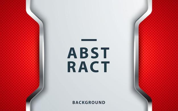 現代の企業の赤の抽象的な背景 Premiumベクター