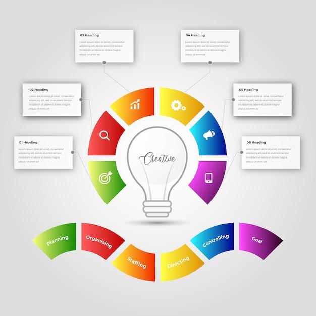 Инфографика для бизнеса. Premium векторы