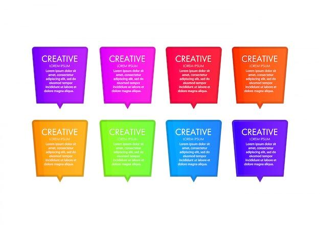 Современный веб-дизайн элементы шаблона с навигацией, кнопки, значки, блоки. шаблон веб-интерфейса. современный бизнес шаблон для презентации, веб-дизайна, баннеров и постеров Premium векторы