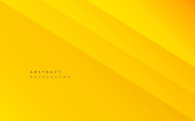 黄色の抽象的な背景 無料ベクター