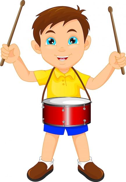 Днем, мальчик с барабаном картинка
