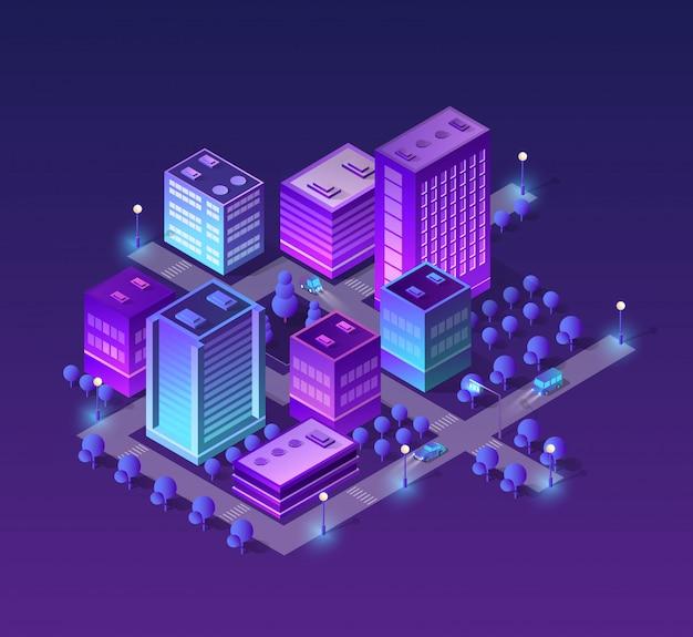 紫色のセット Premiumベクター