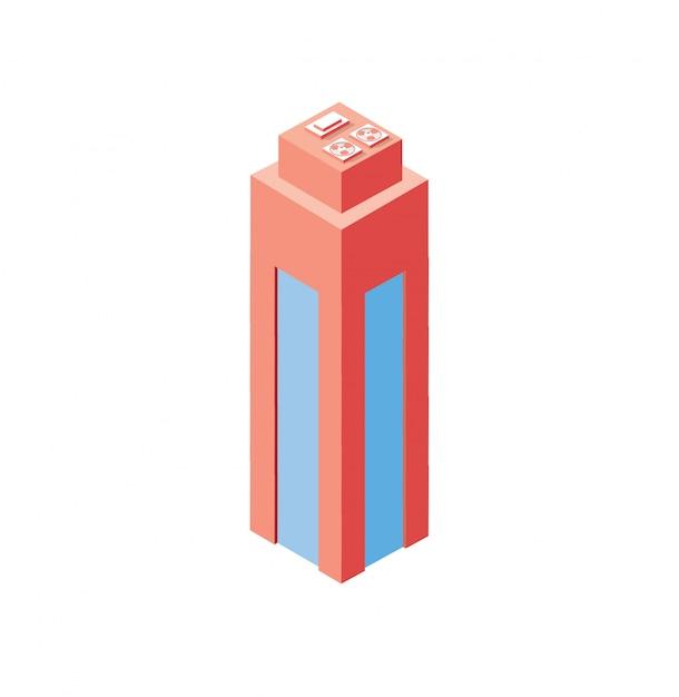 Стиль плоский изометрии Premium векторы