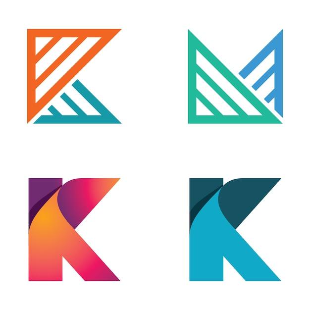 Абстрактные бизнес-логотипы Premium векторы