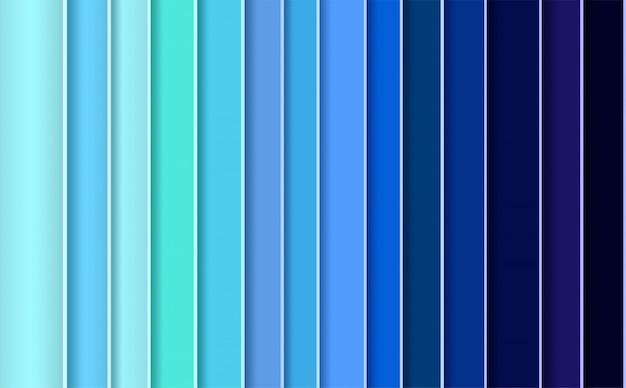 Современный абстрактный фон с синими панелями Premium векторы