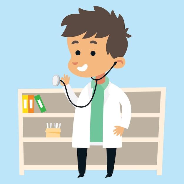 картинки мультяшный доктор.