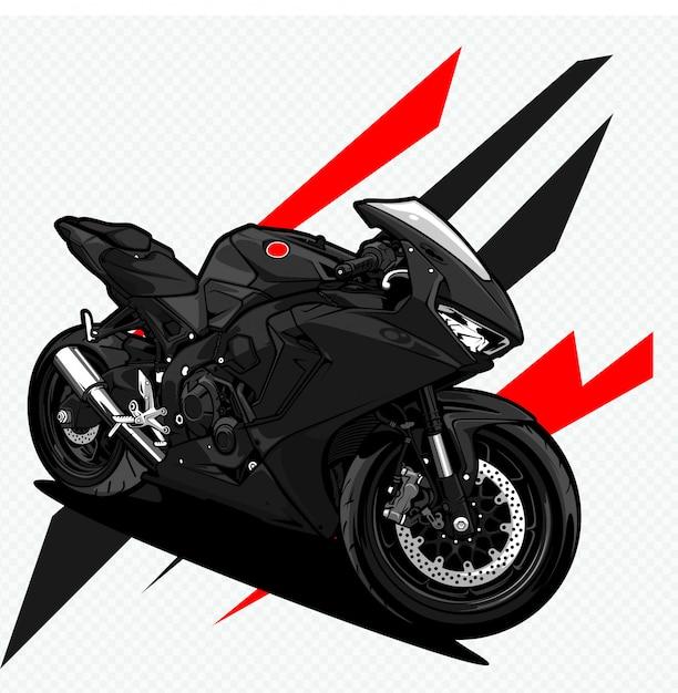 Мотоцикл Premium векторы