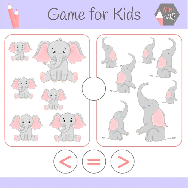幼児向けロジック教育ゲーム Premiumベクター