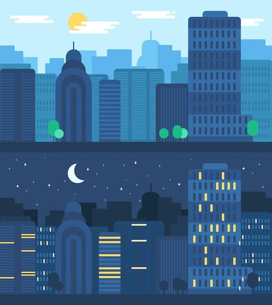 都市生活のコンセプト Premiumベクター