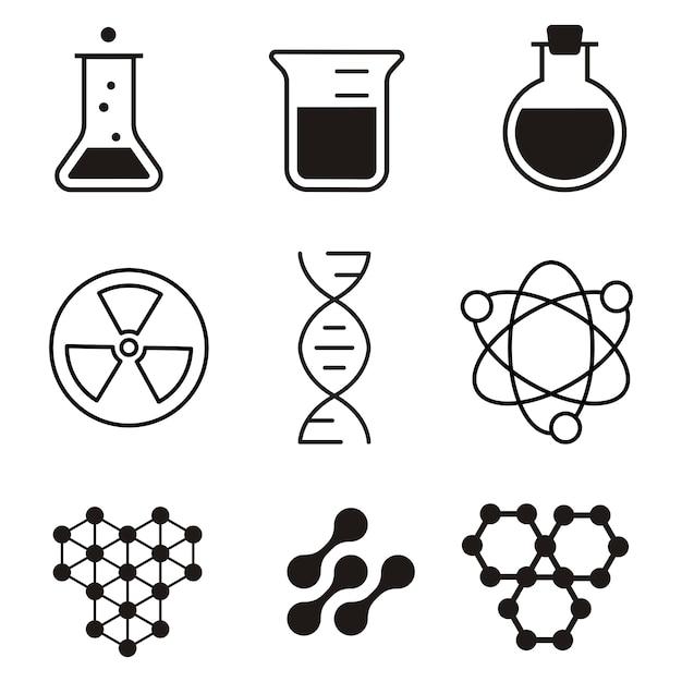 Химические символы картинка
