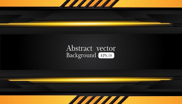 抽象的な金属フレームの背景 Premiumベクター