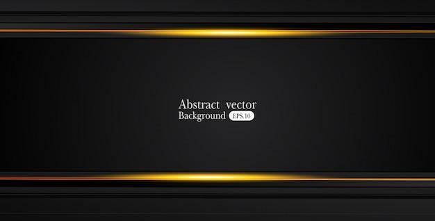 Оранжевый желтый и черный аннотация бизнес фон Premium векторы
