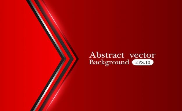 抽象的な金属赤黒の背景 Premiumベクター