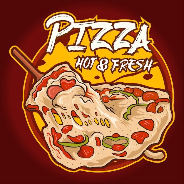 пицца фирменный знак картинки опубликовал своем микроблоге