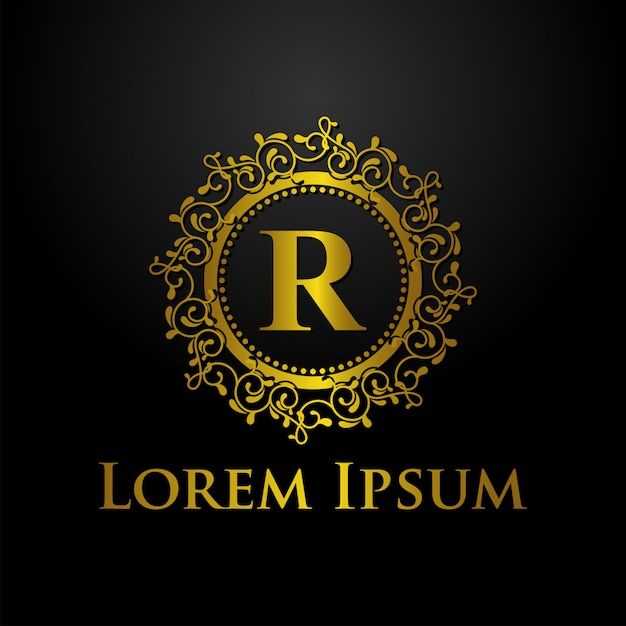 Шаблон логотипа класса люкс Premium векторы