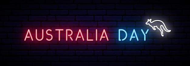 オーストラリアデーロングバナー Premiumベクター