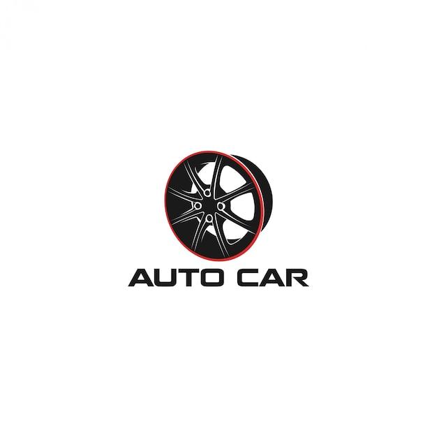 Логотип авторемонтной мастерской Premium векторы