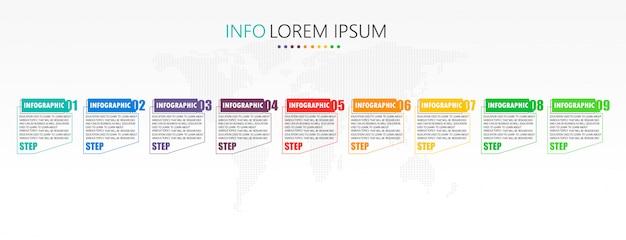 Диаграмма, используемая в образовании и векторном дизайне, использует преимущества бизнес-образования. Premium векторы