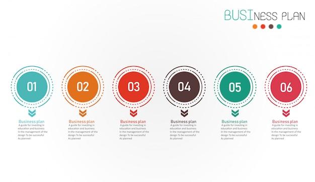 ダイアグラムビジネスと教育のベクトル図 Premiumベクター