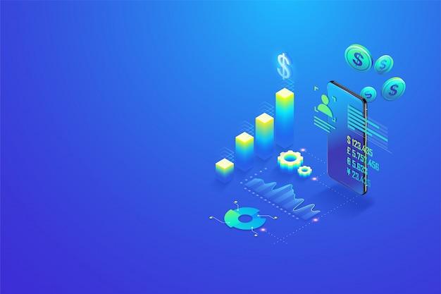 Рентабельность инвестиций Premium векторы