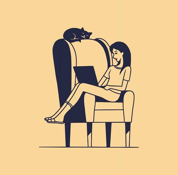 Женщина сидя на конце кровати как парень спит Стоковое Фото ... | 615x626